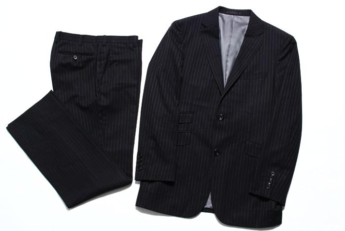 バーバリーブラックレーベル スーツ