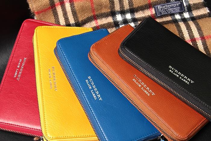 5色から選べるラウンドファスナー長財布