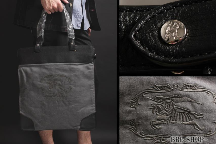 刺繍ロゴトートバッグ