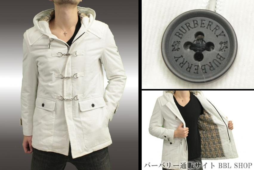 フード付きホワイトジャケット