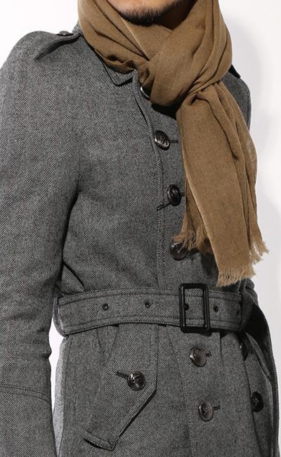 Pコートに相性が良いマフラー